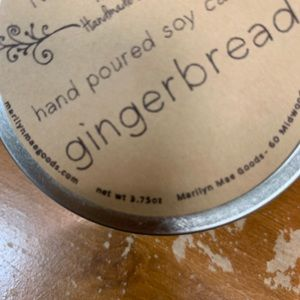 Marilyn Mae Farm Accents - Handpoured Soy Gingerbread Candle